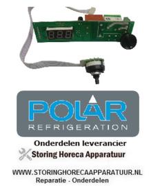 345AD033 - Thermostaat koelkast POLAR Voor CD080, CD082, CD084, CD610, CD612, CD614, CD086, CD087,en CD088