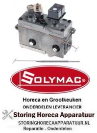 141101131 - Gasthermostaat zonder kap, knop en haak SIT type MINISIT 710 t.max. 190°C 50-190°C SOLYMAC