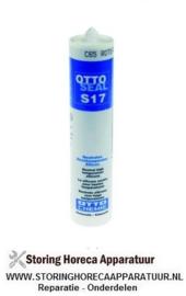 287890015 - Hoge temperaturen silicone OTTOSEAL S17 t.max. 285°C rood/bruin cartridge 310ml