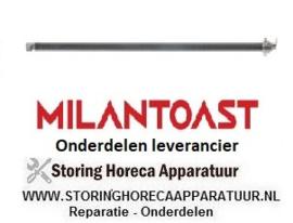 269420510 - Verwarmingselement 790W 115V L 485mm element voor salamanders en toasters MILAN TOAST