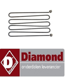 417665.058.00 - VERWARMINGS ELEMENT 3KW VOOR BAIN MARIE DIAMOND E60/BM6T