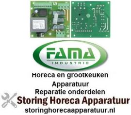 107401360 - Printplaat L 102mm B 95mm 50/60Hz 230/400V voor gehaktmolen FAMA