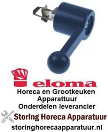 270691988 - Deurgreep aanslag rechts blauw  voor oven ELOMA