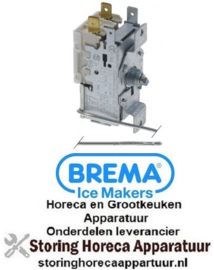 142390288 - Thermostaat RANCO type K50L3163 capillaire 2100mm instelbereik -24 tot -14°C BREMA