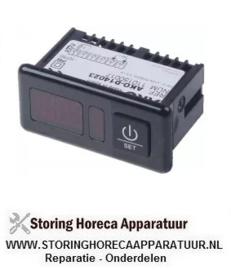 047379518 - Thermometer AKO inbouwmaat 71x29mm 230V spanning AC -50 tot +99+150°C NTC-PTC