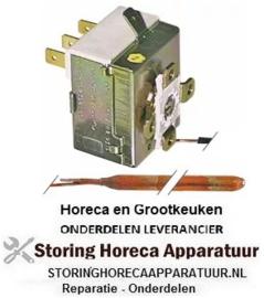 VE026390460 - Thermostaat t.max. 90°C instelbereik 30-90°C 1-polig 1CO 16A voeler ø 6,5mm voeler L 95mm