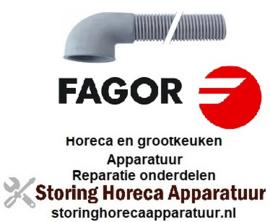 909505082 - Afvoerslang L 1500 mm haaks FAGOR