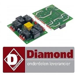 237381384 - Diamond relaisprintplaat pizzaoven LD12/35-N