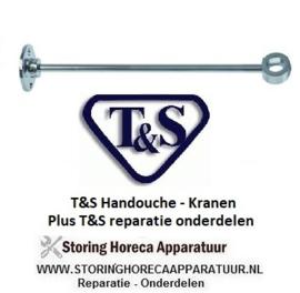 164548680- Wandhouder voor standpijp handdouche T&S