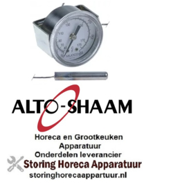 542580016 - Thermometer inbouw ø 52mm t.max. 105°C 0-105°C ALTHO-SHAAM