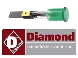 364005010 - Signaallamp groen DIAMOND FRITESUE E22/F46-A8