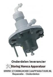 6783.610.02 - Doseerapparaat Naglansspoelmiddel ingang 6x8mm uitgang 4x6mm drukaansluiting ø 4x6mm