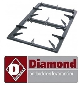 210.681.008.14 - ROOSTER VOOR 2 BRANDERS DIAMOND G65/T2BFA11