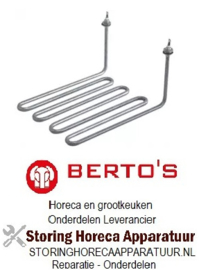 131416006 - Verwarmingselement 3100W 230V voor Bertos friteuse