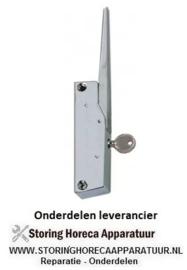 392690413 - Hendelsluiting L 150mm bevestigingsafstand 133mm afsluitbaar koelapparaat G 795