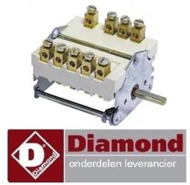 265A01002 - Nokkenschakelaar 4 schakelstanden friteuse DIAMOND FSM