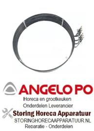 302418103 - Verwarmingselement 24000W 400V voor Angelo Po oven