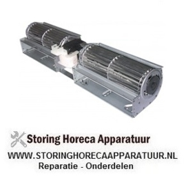 365601026 - Dwarsstroomventilator COPREL TFD(FD) rol ø 60mm wals L 2x180mm gelamineerde kerndikte 35mm