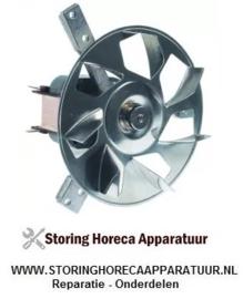 612601198 - OVEN Heteluchtventilator 230V- 38W -  ventilatorblad ø 153mm