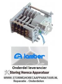 889360256  - Timer CDC 7804F motoren 1 kamers 4 looptijd 120s 230V LAMBER