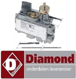 171106700 - Gasthermostaat voor gas friteuse DIAMOND G17/F