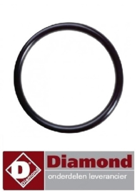 314510893 - O-RING EPDM VOOR ELEMENT DIAMOND E65/CP4T(230V/3)