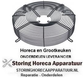 226601951 - Beschermrooster ebm-papst voor ventilatorblad ø 400mm ø 430mm LA 470mm
