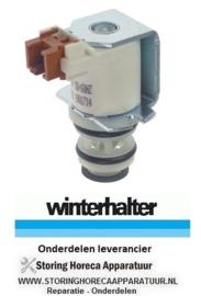 5968.30004.03 - Magneetventiel 230 Volt kunststof glazenspoelmachine WINTERHALTER GS202 - GS402-