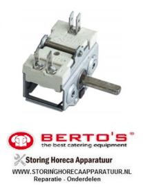 67030051600 - Nokkenschakelaar 3 schakelstanden BERTOS 12 T