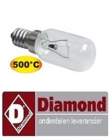 361357118 - Gloeilamp t.max. 500°C fitting E14 40W DIAMOND