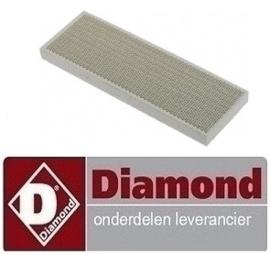 567030054-1 - Keramiekplaat voor brander kippengrill DIAMOND RVG/112-CM