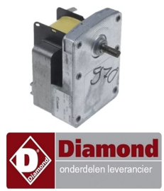 342C5020039 - Motor voor spit kippengrill  DIAMOND RVG-RVE