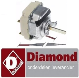VE614.661.007.00 - Thermostaat instelbereik 100-330°C voor kantelbraadpan DIAMOND E65/BRI7T