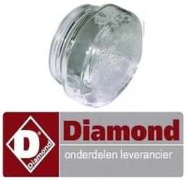 72991610021 - Lampbescherming voor pizza oven DIAMOND GS633/1D-A5-HL