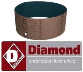 423F2860 - Rasp zijwand voor aardappelschilmachine DIAMOND PPF-05