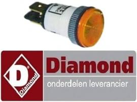 050.663.001.00 - Signaallamp oranje voor fornuis DIAMOND E65/4PFV7