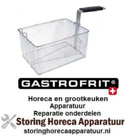 255970751 - Friteusekorf B1 215mm L1 300mm H1 160mm H2 250mm Gastrofrit