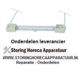 233359694 - Infraroodlamp fitting Z-keramiek L 122mm 220-240V 300W kabellengte 300mm IMPORT