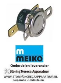 1230.1080.53 - Clixonthermostaat LA 23,8mm uitschakeltemp. 50°C MEIKO DV80T