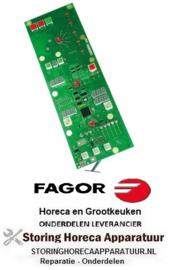 604403319 - Bedieningsprintplaat combi-steamer CPC-Linie CM 61-202/G model vanaf 10/1997 FAGOR