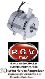 848500973 - Motor 230V fasen 1 180W 50Hz 1380U/min schacht ø 15mm schachtlengte 28mm ø 115mm H 112mm