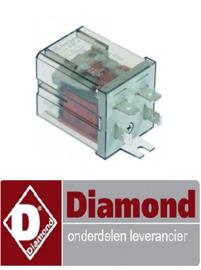 181229029 - RELAIS A1-230AC-L DIAMOND DC202-NP, DC202-6,DC202-6R