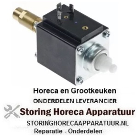 "456501533 - Vibriatiepomp type 230V 50Hz 70W ingang ø 8mm uitgang ø 1/8"" ID uitgang conisch L 129mm"