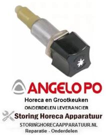 166100002 - Piezo-ontsteker behuizing metaal draaibaar inbouw ø 18mm ANGELO-PO
