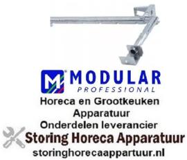 744104691 - Staafbrander L 520mm B 200mm ø 25mm H 60mm voor kantelbare braadpan MODULAR