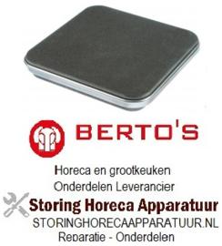 851490071 - Kookplaat 300x300mm 4000W 230V voor Bertos Fornuis