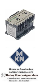 986381486 - Relais AC1 20A (AC3/400V) 4kW voor MKN
