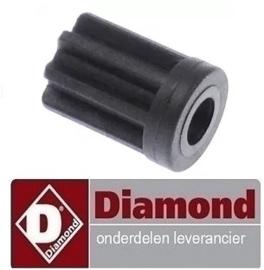 115F2524 - Koppeling mannelijk stangzijde voor staafmixer DIAMOND MAV-450