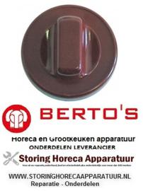 07631876200 - Knop zonder symbool Bain-Marie BERTOS E7BM4B