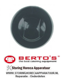 69223653400 - Knop zonder symbool ø 72mm BERTOS 12 T